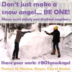 be a snow angel