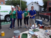 Fidelity Volunteers at the Mather School