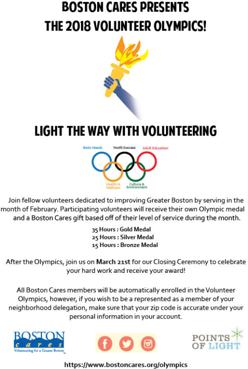 Volunteer Olympics Big AI-updated hours